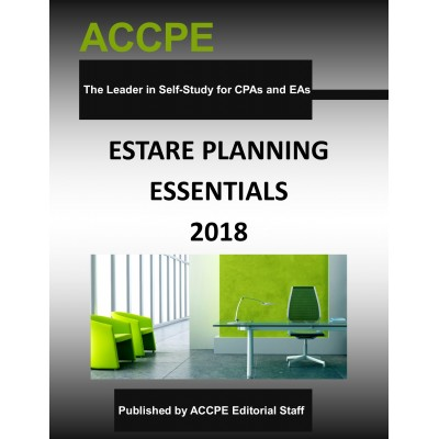 Estate Planning Essentials 2018