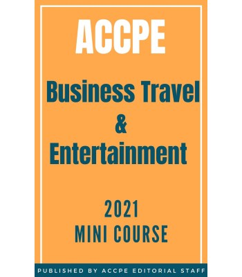 Business Travel and Entertainment 2021 Mini Course