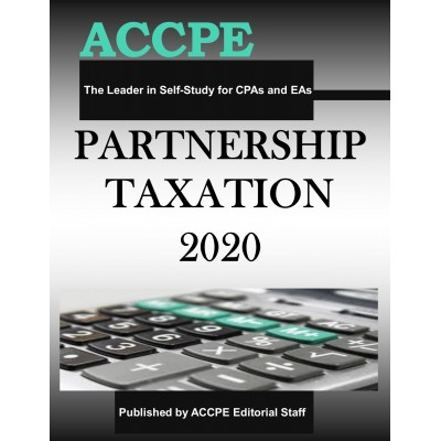 Partnership Taxation 2020