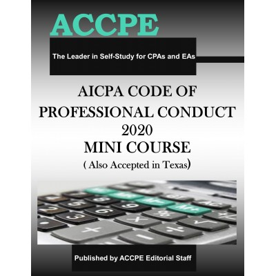 AICPA: Code of Professional Conduct 2020