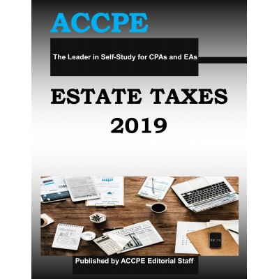 Estate Taxes 2019