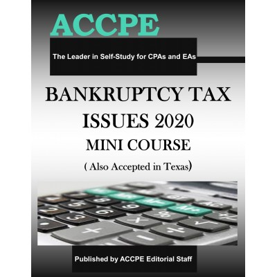 Bankruptcy Tax Issues 2020 Mini-Course