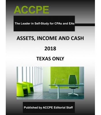 Assets, Income and Cash 2018 TEXAS ONLY