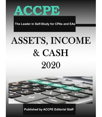 Assets, Income and Cash 2020 TEXAS ONLY & OHIO ONLY