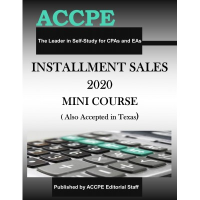 Installment Sales 2020 Mini Course