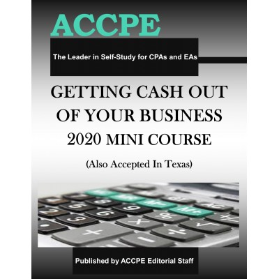 Getting Cash Out Of Your Business 2020 Mini-Course
