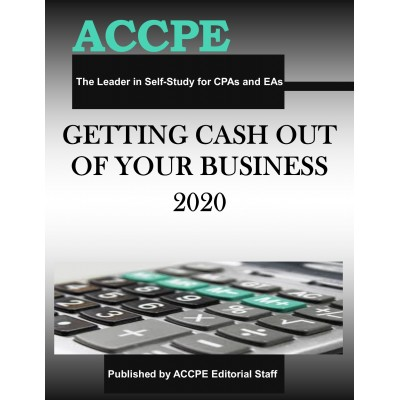 Getting Cash Out of Your Business 2020