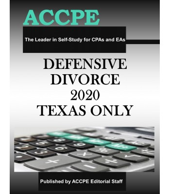 Defensive Divorce 2020 TEXAS ONLY & OHIO ONLY