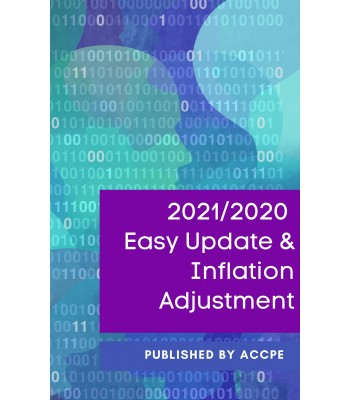 2021/2020 Easy Update & Inflation Adjustments