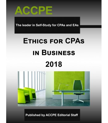 Ethics for CPAs in Business