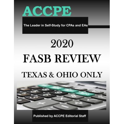 2020 FASB Review TEXAS & OHIO ONLY