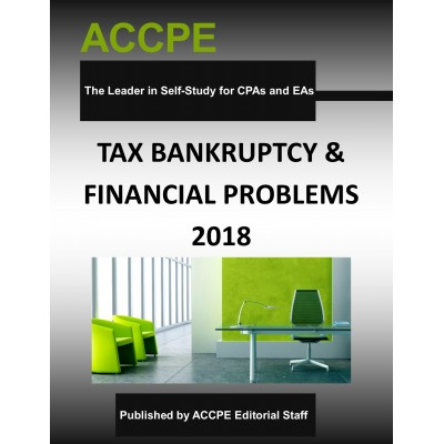 Tax, Bankruptcy & Financial Problems 2018
