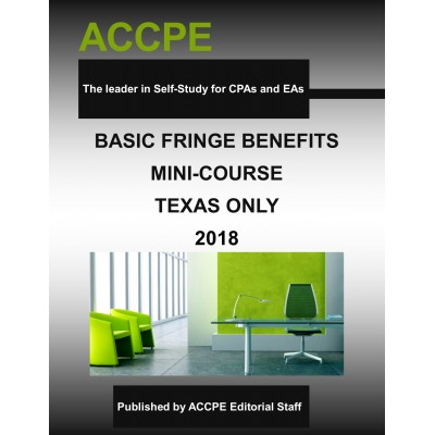 Basic Fringe Benefits Mini-Course - TEXAS ONLY