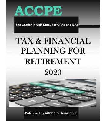 Tax and Financial Planning for Retirement 2020