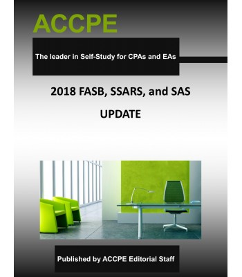 FASB, SSARS and SAS Update and Review 2018