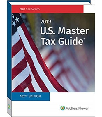U.S. Master Tax Guide 2019 TEXAS ONLY