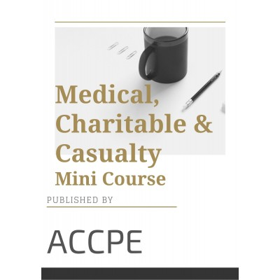 Medical, Charitable and Casualty 2021 Mini Course