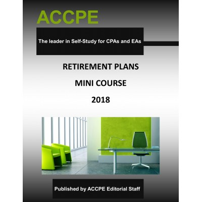 Retirement Plans Mini-Course 2018