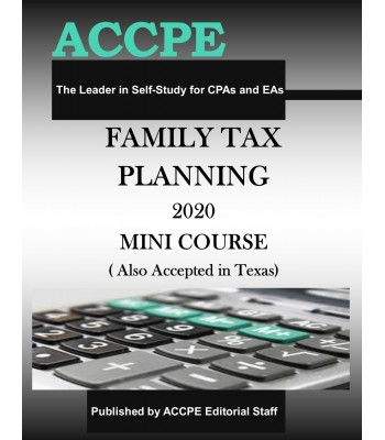Family Tax Planning 2020 Mini Course