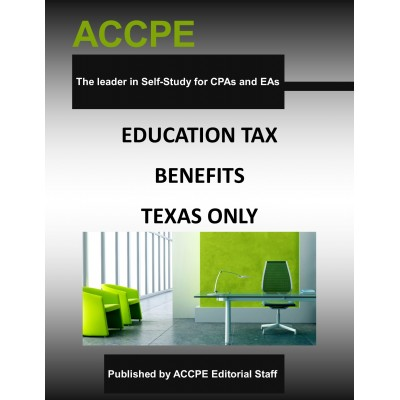 Education Tax Benefits-Mini-Course-Texas-Only
