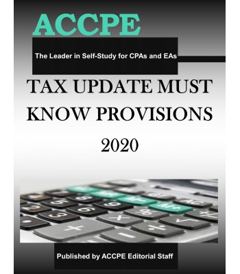 Tax Update Must Know Provisions 2020