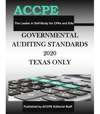 Governmental Auditing Standards 2020 TEXAS & OHIO ONLY