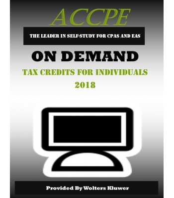 Tax Credits for Individuals