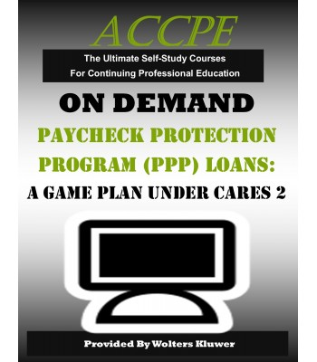 Paycheck Protection Program (PPP) Loans: A Game Plan Under Cares 2