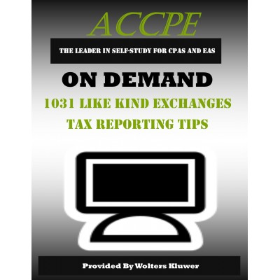 1031 Like Kind Exchanges Tax Reporting Tips