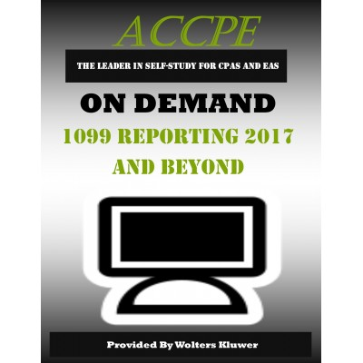 1099 Reporting 2017 and Beyond