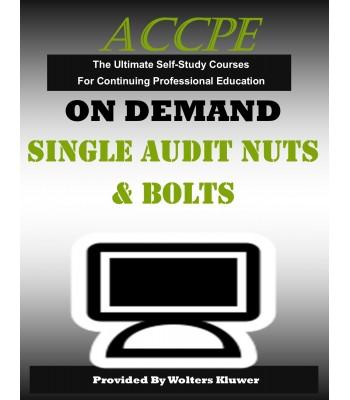 Single Audit Nuts & Bolts
