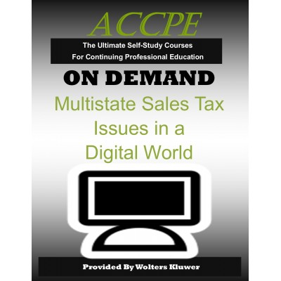Multistate Sales Tax Issues in a Digital World