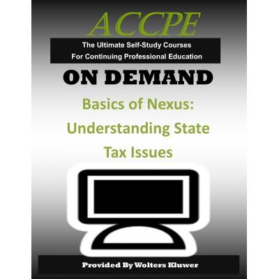 Basics of Nexus: Understanding State Tax Issues