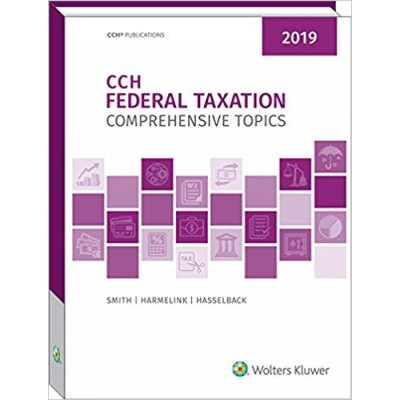 CCH FEDERAL TAXATION 2019 TEXAS ONLY