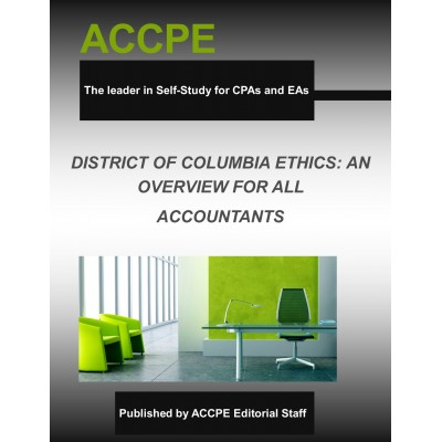 District Of Columbia: Ethics An Overview For  Accountants 2017
