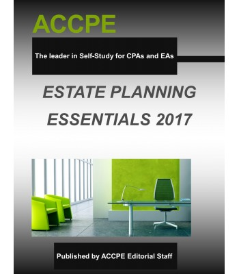 Estate Planning Essentials-TEXAS ONLY-350031T- 2017