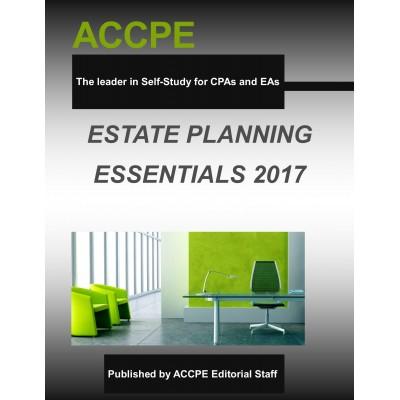 Estate Planning Essentials 2017