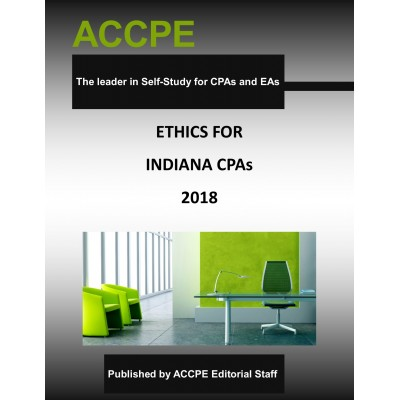 Ethics for Indiana CPAs-2018