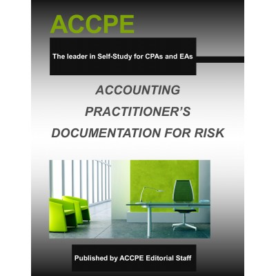 Accounting Practitioner's Documentation for Risk