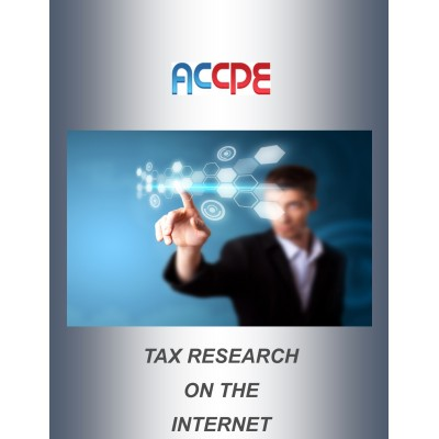 Tax Research on the Internet 2016