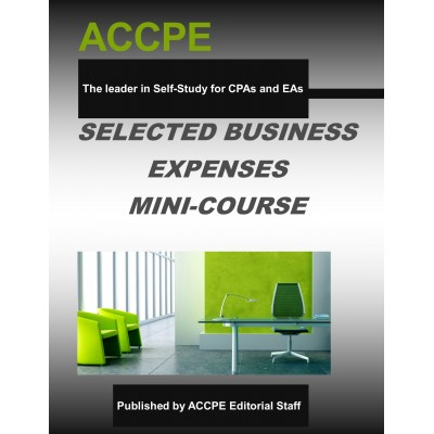 Selected Business Expenses Mini-Course