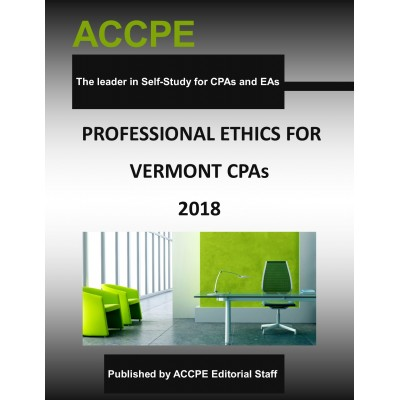 Professional Ethics for Vermont CPAs