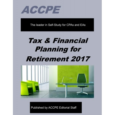 Tax & Financial Planning for Retirement-2017